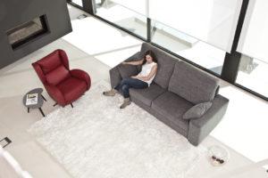 Sofa fama Alfred Tapizado Madrid